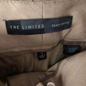 Tan Limited Capri Work Pants